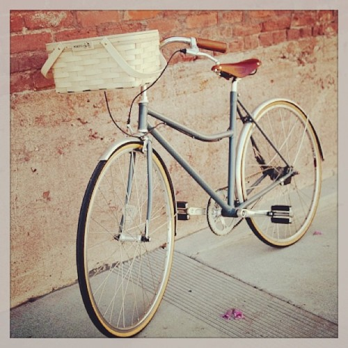 Happy weekend! We will be packing a picnic and bike around in Palm Springs in our new nifty Picnic Bike Baskets! Online and in-store now… (at poketo.com/shop/living)