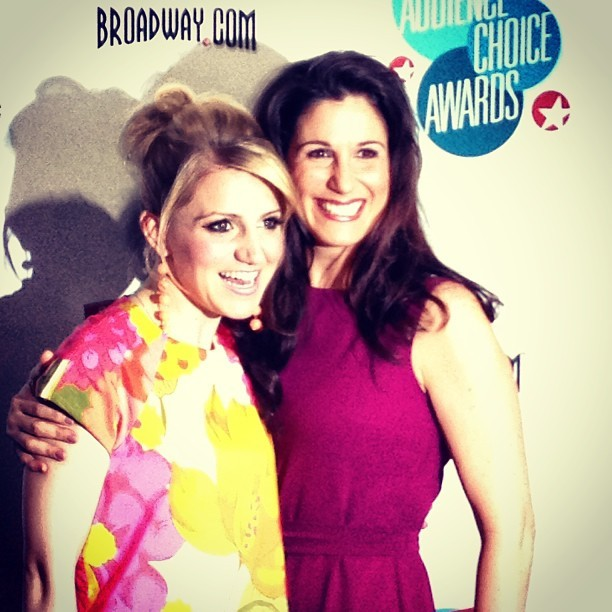 broadwaycom:  Lovely ladies Annaleigh Ashford and Stephanie J. Block are a perfect pair! #BACA2013