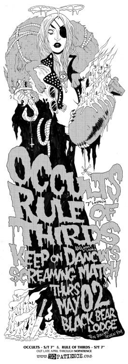 Occults // Rule of thirds // Keep on Dancin's // Screaming Match