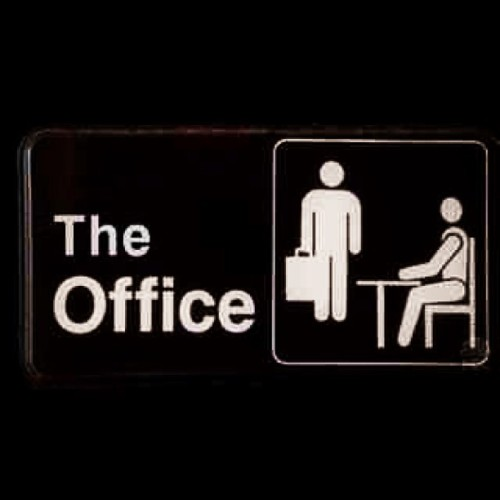 So sad to say goodbye. #theoffice (at My House)