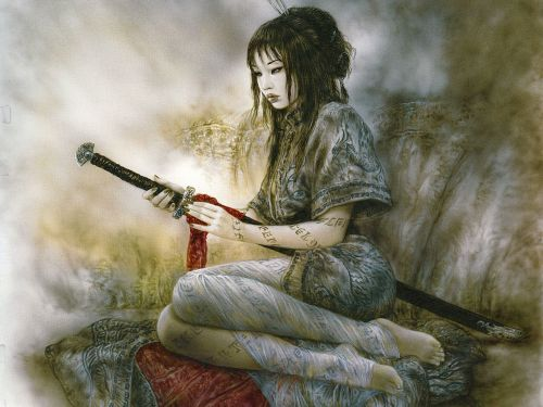 otoniea:  Wallpapers Luis Royo - Fantasy - Photo : 184137 on We Heart It - http://weheartit.com/entry/44369209/via/otoniea