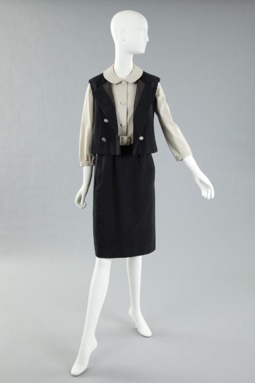 Ensemble Norman Norell, 1960s The Goldstein Museum of Design