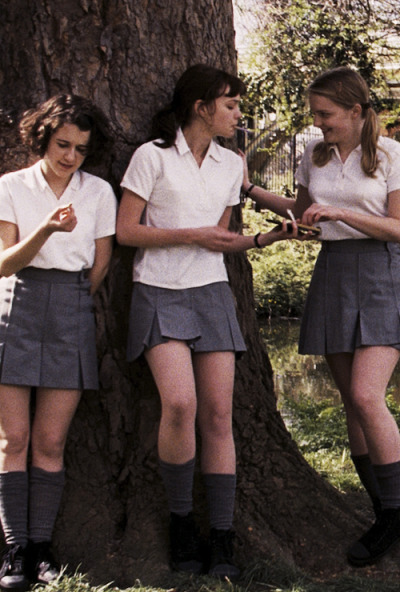 vorpal-sword-in-hand:  Ellie Kendrick, Carey Mulligan and Amanda Fairbank-Hynes. An Education (2009, Lone Scherfig).