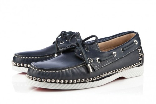 If you need some new boat shoes to sail away this summer, you should really step your game up and get these studded ones from Christian Louboutin…all the yacht club pals will be mad at you!