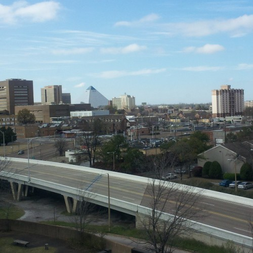 World outside my window.  #Memphis