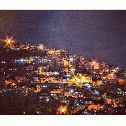 Baguio night lights #squaready #baguio #night #lights #photooftheday #picoftheday #photography #asia #iphonesia #iphone #webstagram #instagram #igers #igersmanila #igdaily #cloud #cloudporn #sky #skyporn #vacation #travel #stars #architecture #igtube #jj #igsg #itsmorefuninthephilippines #work