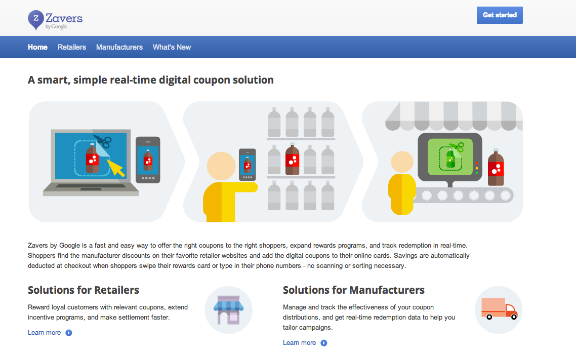 "marketingland:  Google Introduces Digital Couponing And Loyalty Solution ""Zavers"""