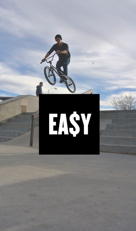 easymoneyclothing:  E A $ Y | B M X photo courtesy of Fencie