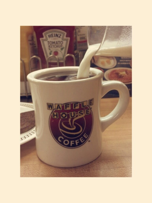 coffee #bored at Waffle House – View on Path.