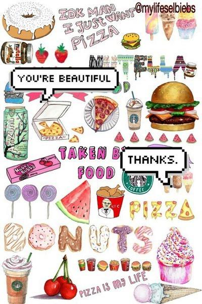 Pizza collage tumblr