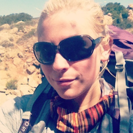 training hike with all my gear. so far so good!