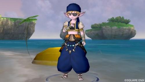 海賊風ドレスアップ