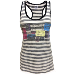 <p>Cassette Collage Women's Tank</p>