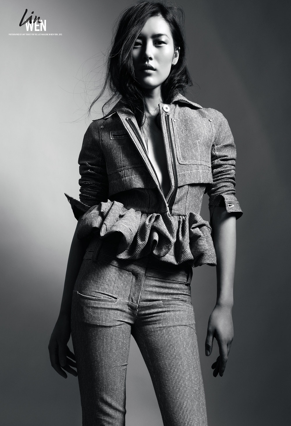 Liu Wen for The Last Magazine Spring Summer 2013