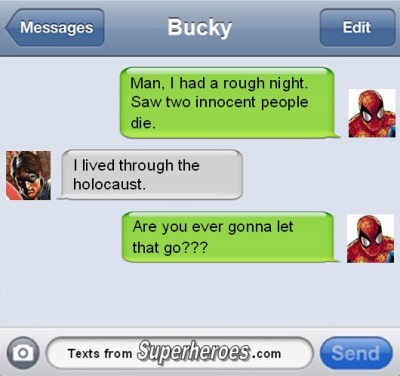 Bucky needs to let go
