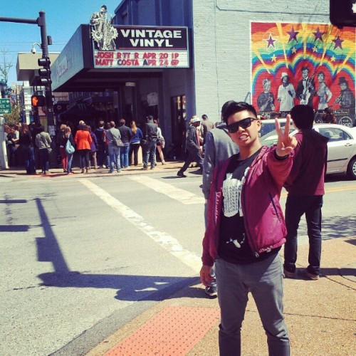 sincerelyjared:  Loving Record Store Day at @vintagevinylstl ! #RSD2013