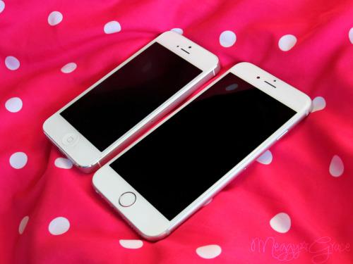 meggygrace:  iPhone 5 vs iPhone 6