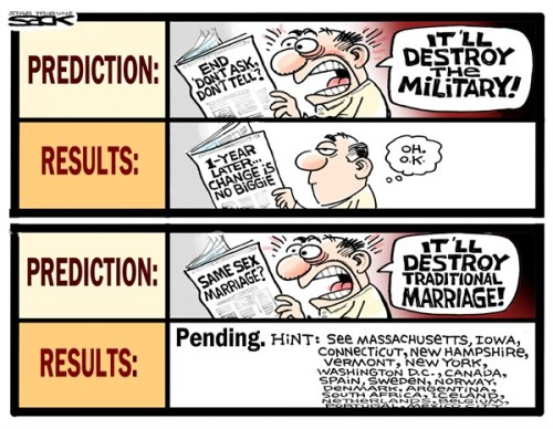 LGBTQ* Political Cartoons You May Have Missed Homophobia BY STEVE SACK, THE MINNEAPOLIS STAR TRIBUNE  -  9/24/2012 12:00:00 AM
