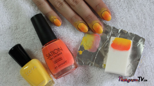 "Exciting news in the nail art world. Our friends over at Hey, Nice Nails have an amazing new nail art book coming out called ""Nail Candy"". Best of all, they were nice enough to let #NAILgasmTV get a sneak peak at some of the awesome tutorials that are in the book. Check out this fabulous summer time mani called Sunset Silhouettes, one of the tutorials from Hey Nice Nails' upcoming nail art book ""Nail Candy."" Pre-order ""Nail Candy"" here Watch a video of the tutorial here"