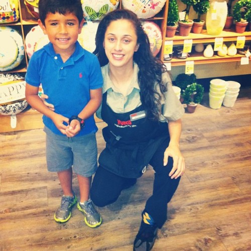 Nephew came to visit his favorite Tia at work #lovemyboy #instanephew #trissybear #polo #reeboks #coolwatch #nicefitkid