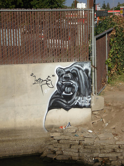 Bare AHF SouthernCalifornia Graffiti Art by anarchosyn on Flickr.
