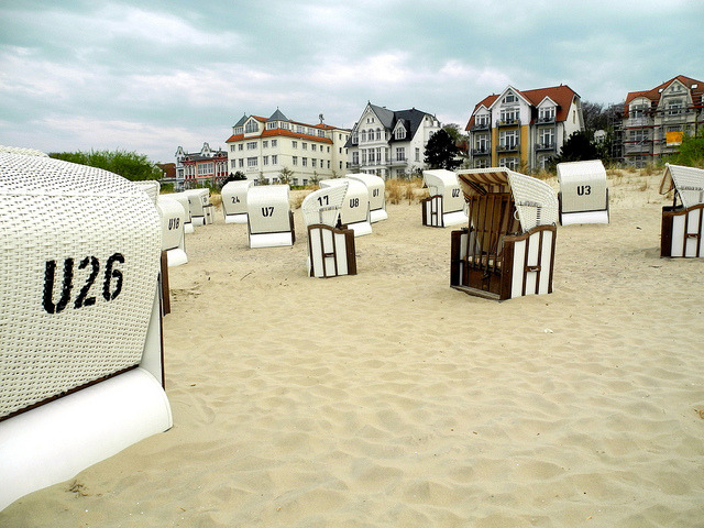 | ♕ |  Seabad Bansin Beach - Germany  | by © Mathias Liebing
