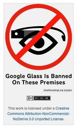The Backlash against Google Glass has rightly started - you can prepare with these badges from Stop The Cyborgs.  They're not technophobes, but want to call out the challenges of this technology - for example most wouldn't want to be a victim of Glass image recognition as they walk down the street…