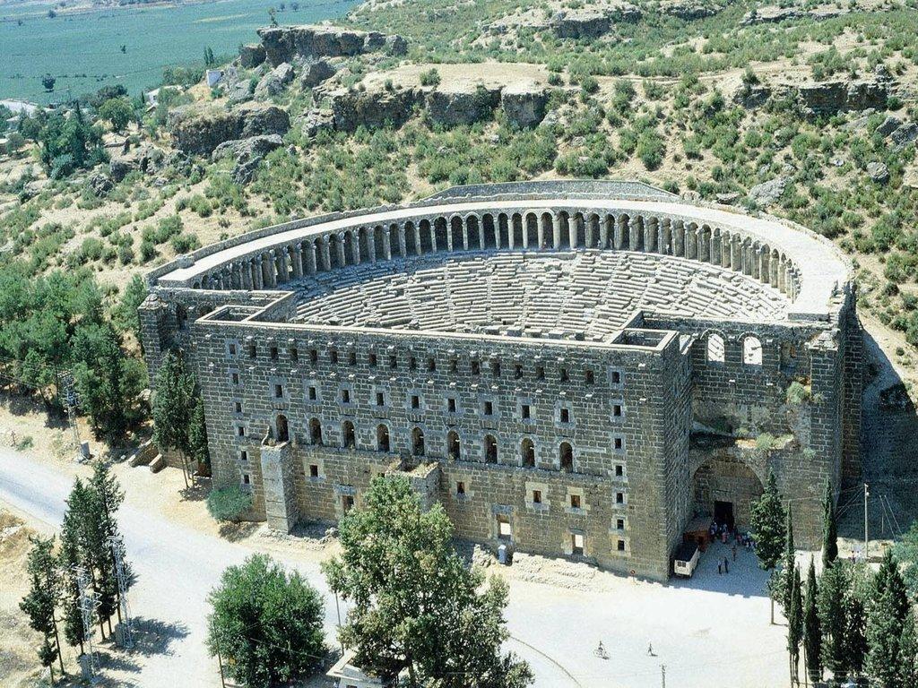 990000 - Aspendos theater, Antalya, Turkey wikipedia: