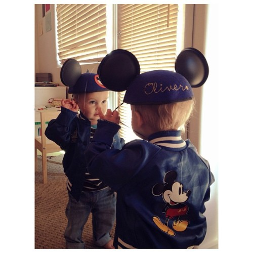 Mickey Ears! | #christmascameearly #mickeymouse #disney #oliverhenry