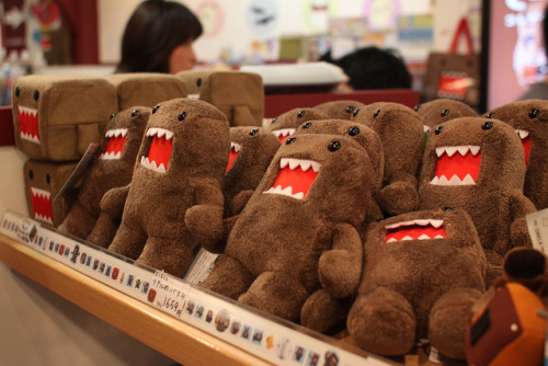 japanlove:  Domo Dolls by Yiie on Flickr.