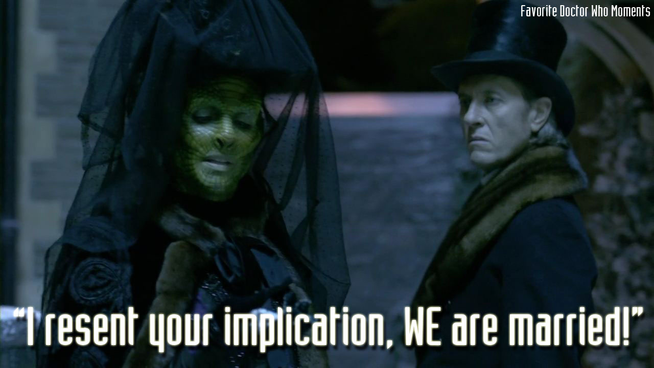 Vastra and Jenny are too cute
