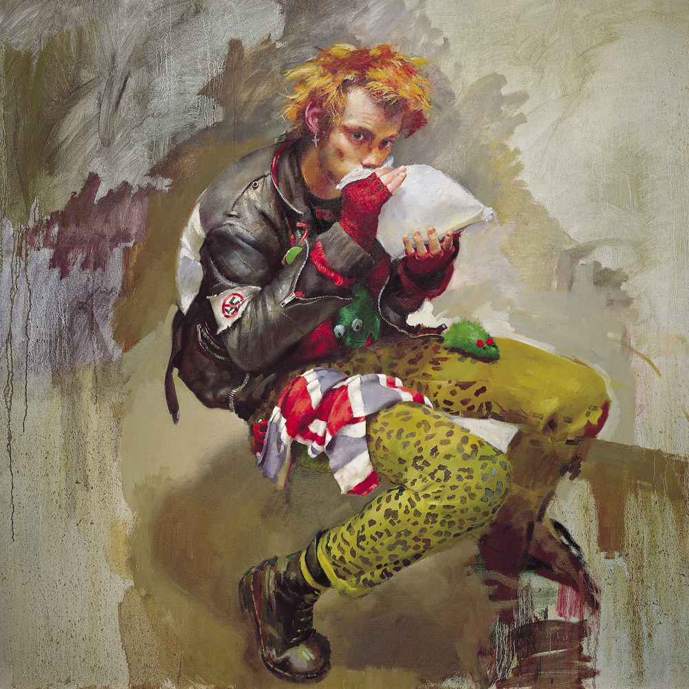 Robert Lenkiewicz - The Glue Sniffer, 1988 Eleven years after his death and the recent settlement of his estate, the first international exhibition of Lenkiewicz's work will take place at the Spinnerei, Leipzig, 23 June - 21 July, 2013   via BBC News See more here