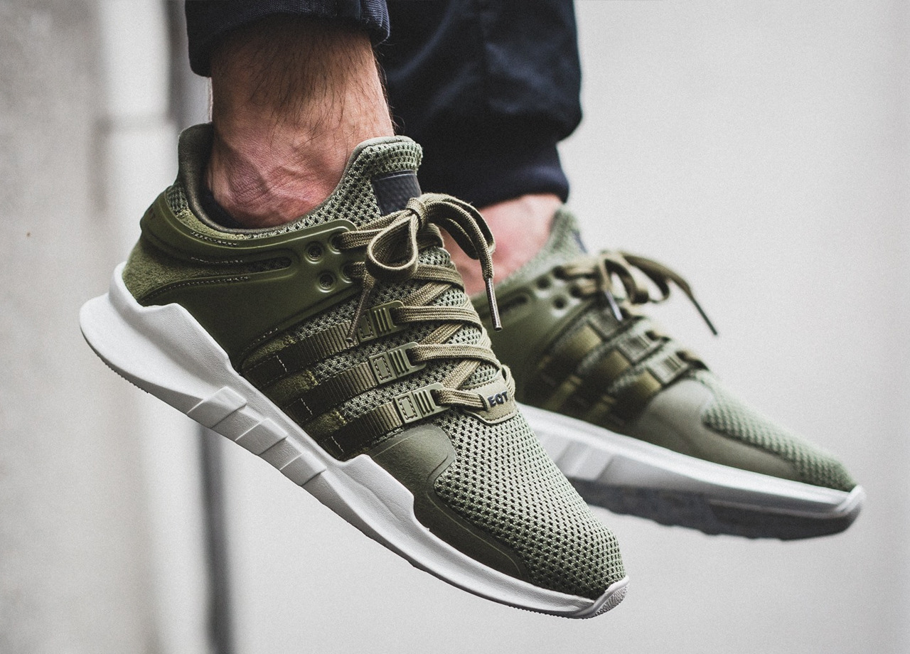 adidas eqt support adv olive 2016 by titolo sweetsoles sneakers kicks and trainers. Black Bedroom Furniture Sets. Home Design Ideas
