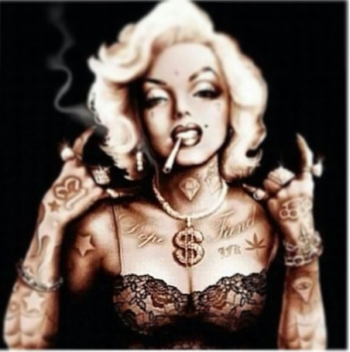 #Marilyn #Monroe #Tatted