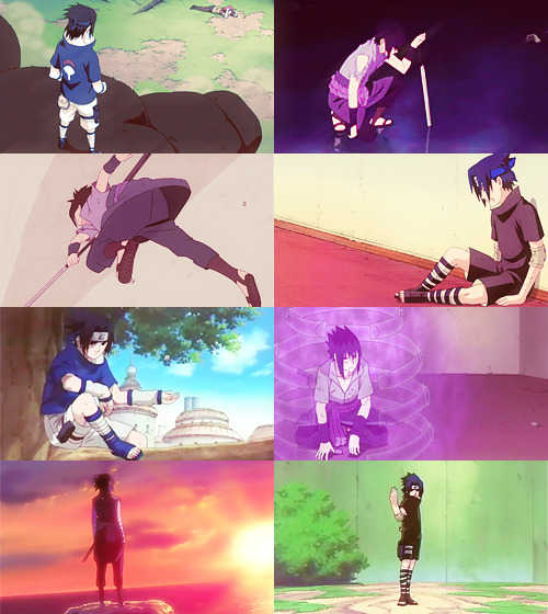 screencap meme: sasuke uchiha + full body shots (for konohahas)