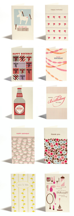 Pretty cards by Parcel post
