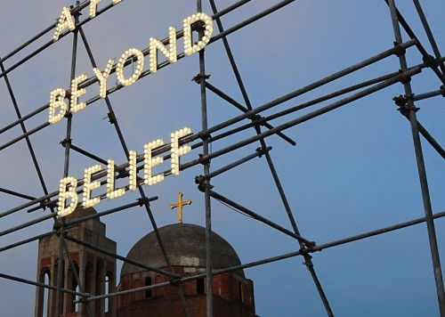 Nathan Coley: A Place Beyond Belief (2012)