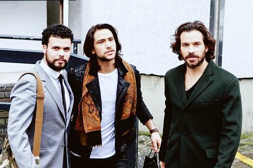 santiago-cabrera:  The Musketeers leave the ITV Studios x