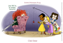 Pocket Princess 45: Club Oscar (Vanellope was only a guest last week, she's not a regular ;))
