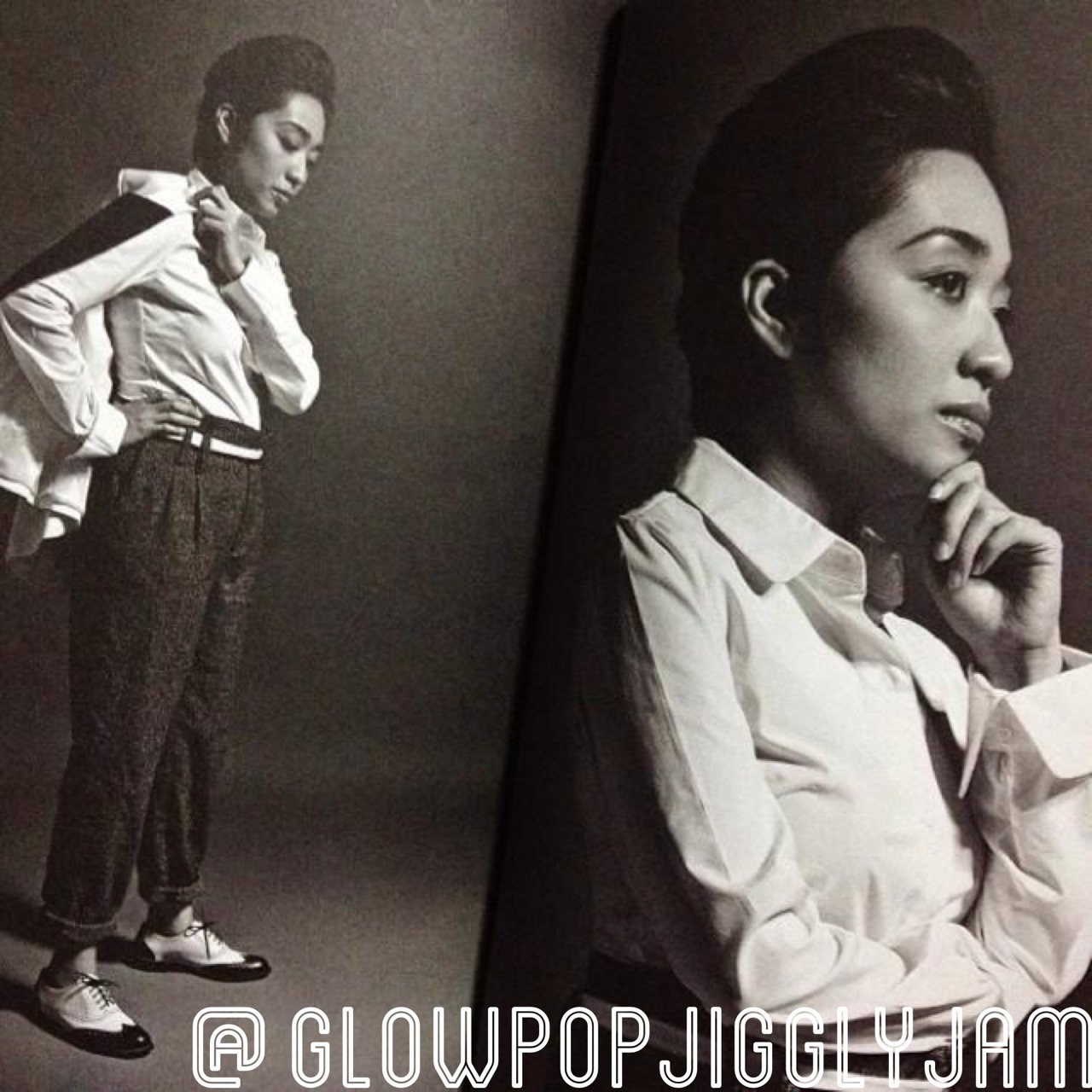 glowpopjigglyjam:  Androgyny at its finest! Armi Millare, featured in the latest issue of Vault magazine with the rest of UDD. I tell you, this issue is a must have even though there we're only like 3 to 4 pages about them.