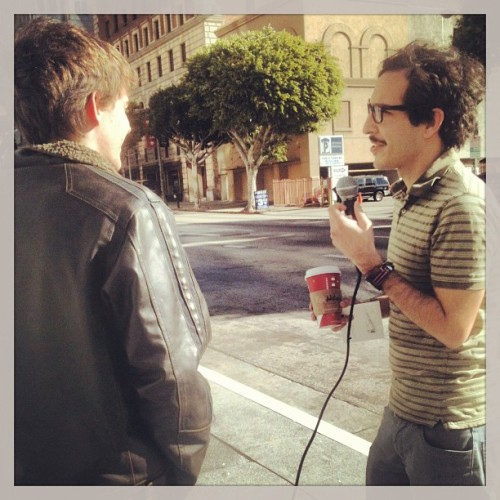 Interview in downtown LA!