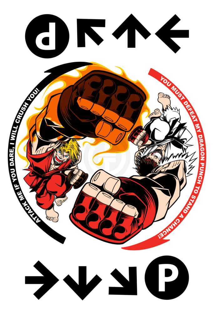 "xombiedirge:  Way of the Dragon Fist by Tracy Tubera / Store 13"" X 19"" print. S/N edition of 25, available HERE"
