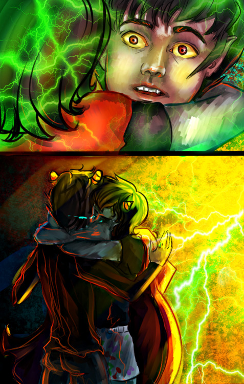 eteriart:  Sadstuck Karezi. I want my feels back.