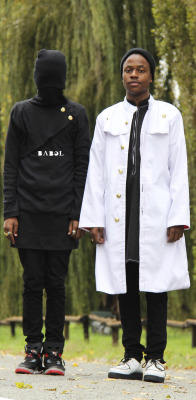 blackfashion:  Both wearing BABEL by KreativeBeings Siz (18) & Jazz (18) www.kreativebeings.tumblr.com photographed by: Shivari Singh #BABEL #KreativeBeings