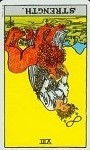 strength reversed tarot card meanings