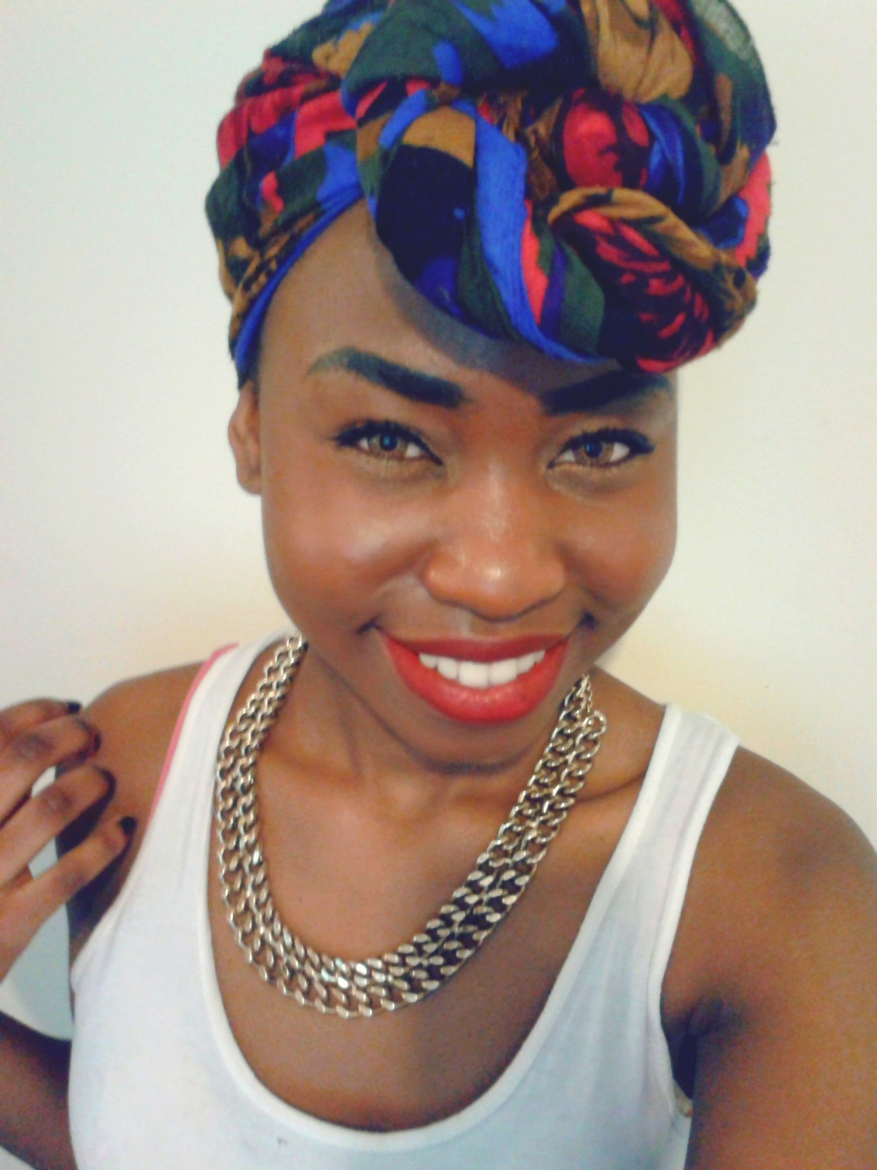 Love this head wrap because my grandma gave it me <3