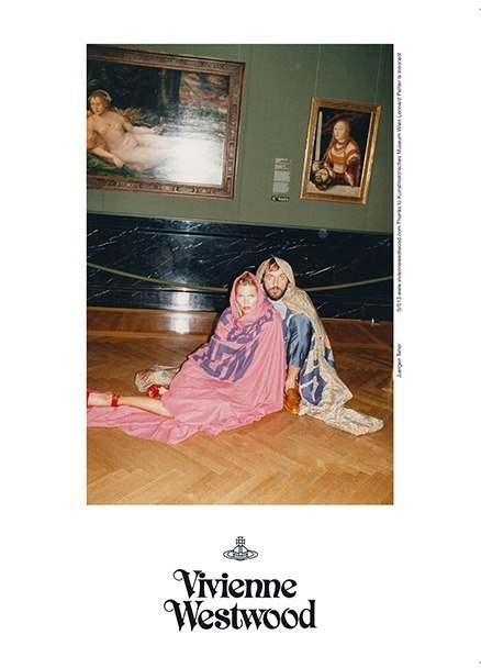 juergenteller:  Vivienne Westwood spring/summer 2013 advertisement with Kate Moss.