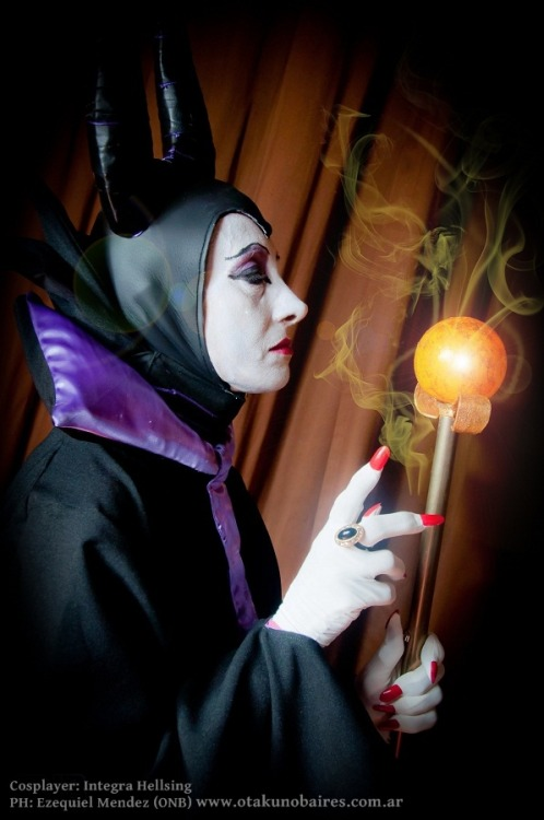 Maleficent by ~Integra-cosplay on Deviantart.
