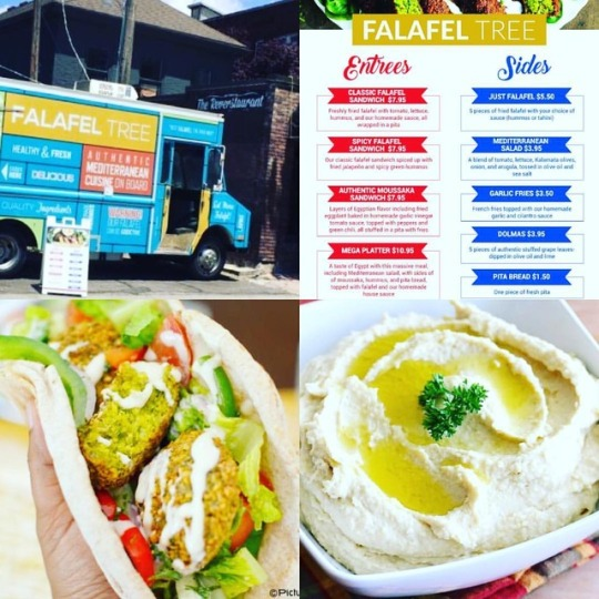 Attention all Foodies and Vegans! Today June 13th 11-9PM Falafel Tree will be at...