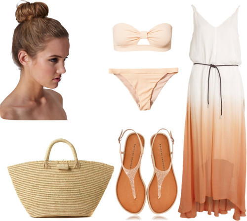 Eleanor  inspired for a beach day/ day at the pool —Alexa